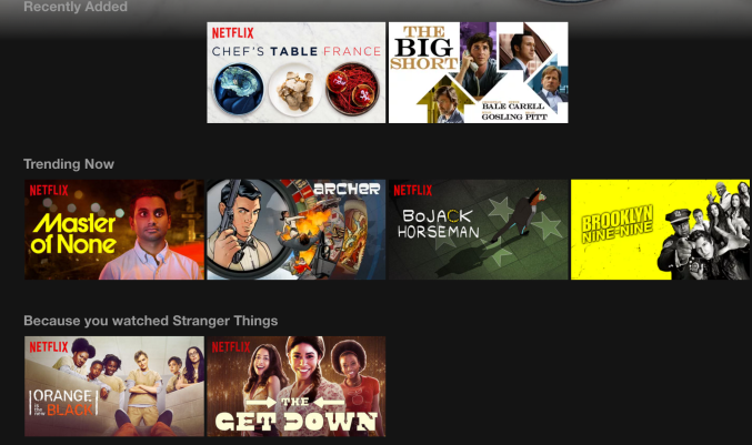 online recommendation systems netflix