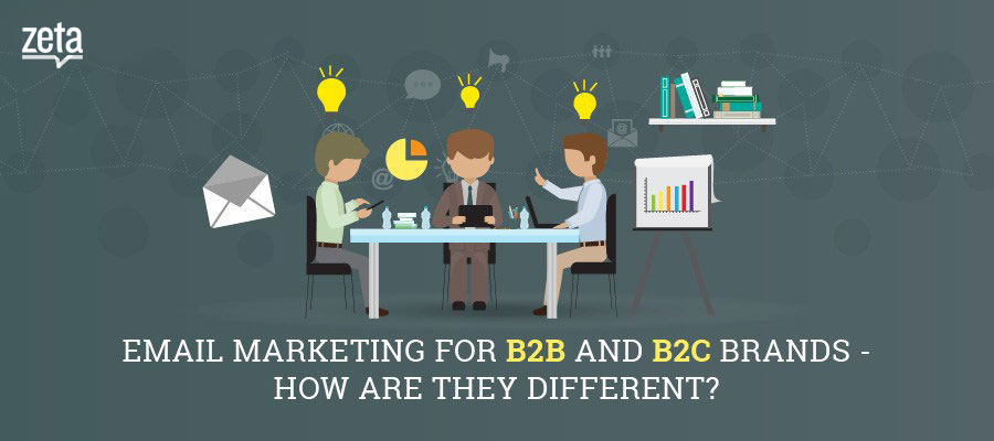 Email marketing for B2B and B2C brands-How are they different?