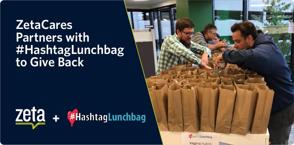 ZetaCares Partners with #HashtagLunchbag to Give Back