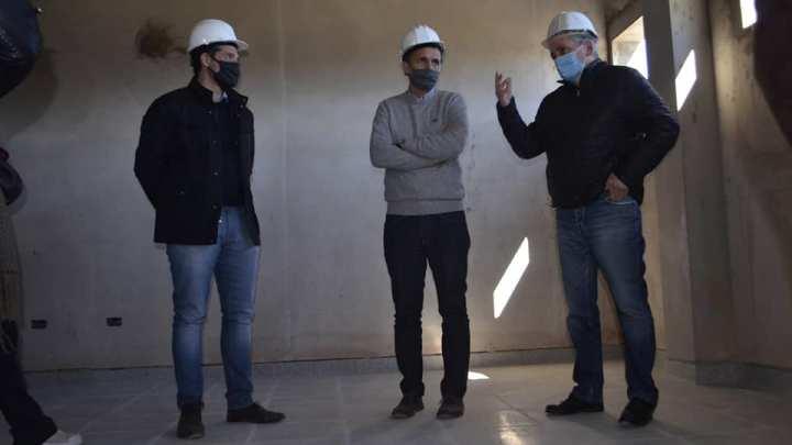 Gabriel Katopodis estuvo en ChascomúsEl gobierno nacional aportará los fondos para terminar las obras de construcción de la sala de pediatría