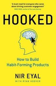 """Portada del libro """"Hooked (enganchado)"""" de Nir Eyal"""