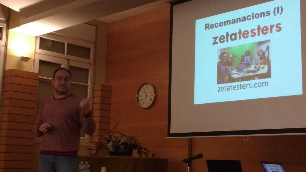 Miquel Gabarró recomienda zetatesters en el Betabeers Menorca