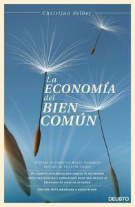 """Portada del libro """"La economía del bien común"""" de Christian Felber"""