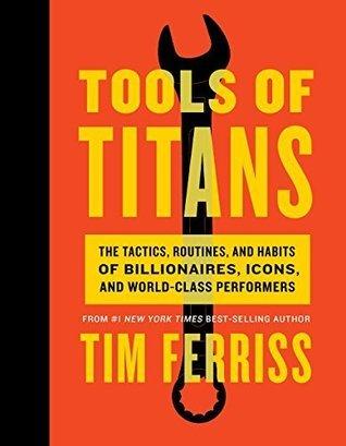"""Portada del libro """"Tools of Titans"""" de Tim Ferriss"""