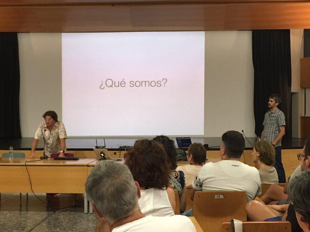 Marc Alier y Carles Caño en #Novadors17