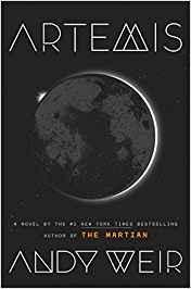 """Libro """"Artemis"""" de Andy Weir"""