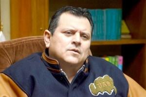 Rector de la UABC Daniel Valdez. Foto: Cristian Torres