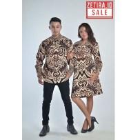 Batik Couple Baron Coklat