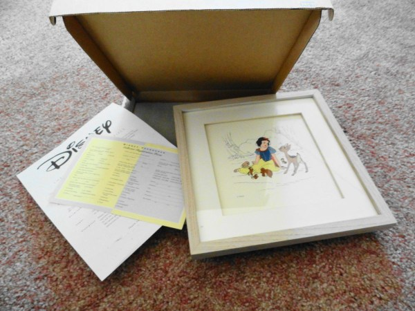 Disney Treasures 1994 Snow White and the Seven Dwarfs 1937 Repro COA NIB