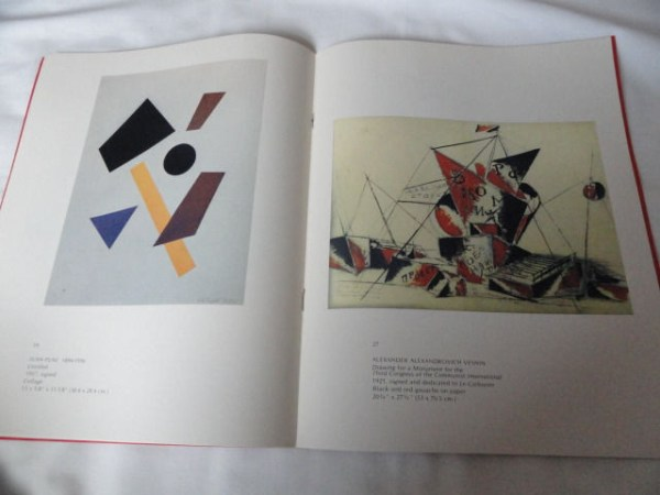 Art Book Catalog Brochure The Russian Revolution in Art Rosa Esman Gallery 14 Pg