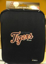 Detroit Tigers MLB Tribeca Black Neoprene Sleeve for Apple Ipad New With Tag