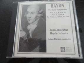 Vintage Musical Heritage Society Classical Haydn The Early Symphonies CD