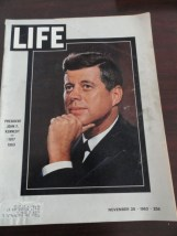 Vintage Life Magazine November 29, 1963  JFK 1917-1963 On Cover