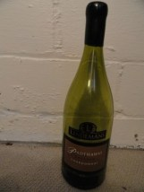 "LINDEMAN PADTHAWAY Chardonnay Dummy Display Wine Empty Glass Bottle 18"" Corked"