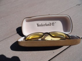 Vintage Men's Timberland Eyeglasses TB 1183 With Case Lenes Preowned Great Con