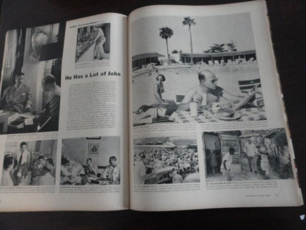Vintage Life Magazine March 21, 1949 Wardrobe For Madeline Cuba On Cover