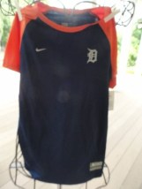 Detroit Tigers MLB Nike Team Genuine Merchandise Short Sleeve Shirt NWT M