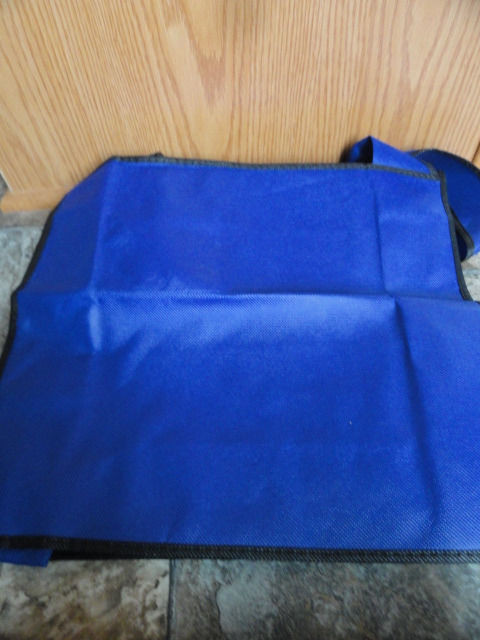 EBAY LIVE 2008 Chicago New govliquidation Blue Tote 16x14x16 Adjustable Handle
