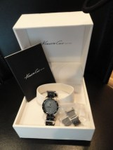 Kenneth Cole NY Swiss Collection Women's Watch KS4013 With Box Manual Links