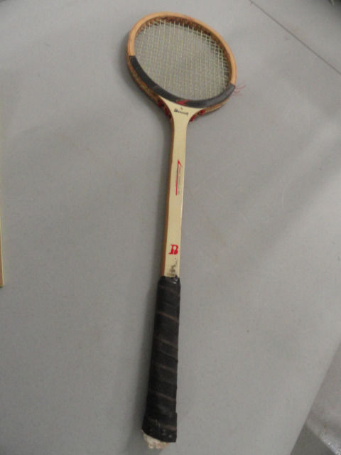 Vintage FRS By Bancroft Squash Racquet Sweet Center Spot FRS Composite Used