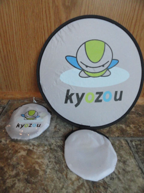 "EBAY LIVE 2008 Chicago New KYOZOU 9"" Flying ""Saucer"" Closes to 4"""