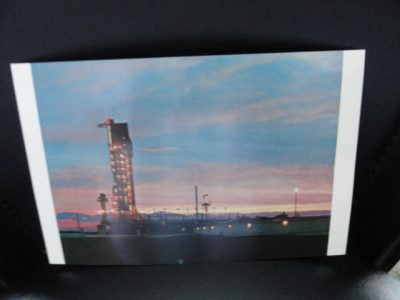 Vtg  60's NASA Postcard Collector's Item 106 Sunrise at Gemini-Titan Complex 19