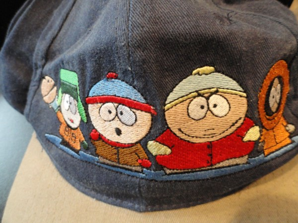 Baseball Cap Hat One Size Fits All Adjustable South Park NWOT