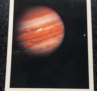 Vintage Postcard Uncirculated Unposted Jupiter Taken Feb. 5, 1979 by Voyager 1