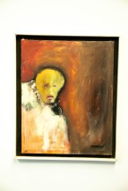 """Vtg '72 Abraham Ramirez Acapulco Mexico Oil On Canvas Painting """"Ghost"""" Signed"""