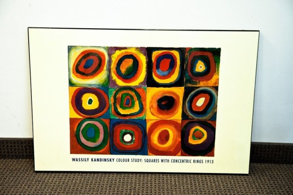 Wassily Kandinsky Colour Study: Squares With Concentric Rings 1913 Poster Art