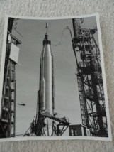 Mercury Atlas With Capsule #13 On Pad 16 Unc 1 CCMTA NASA /MERCURY 22 Jan 62