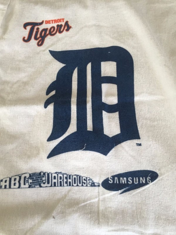Detroit Tigers 4 MLBP 2011 Rally Towels Comcast Chevy Samsung Macy's Mint