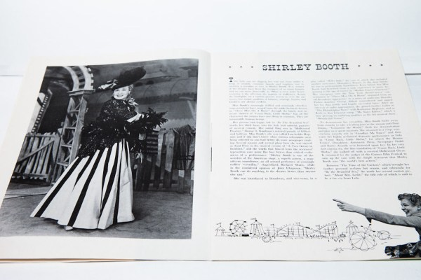 "Vintage Shirley Booth ""BY THE BEAUTIFUL SEA"" Broadway Souvenir Program"