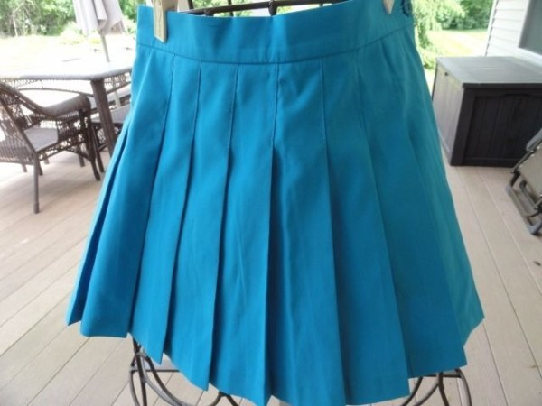 Girls T.V. SPORTS Tennis Skirt By Marilyn Kosten Memphis TN Size 12 Blue  NWOT