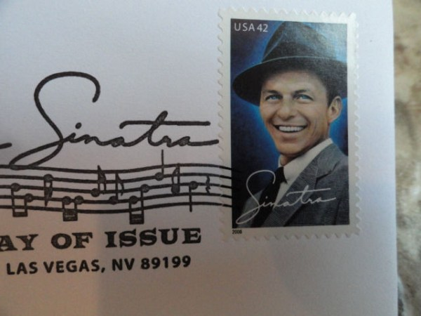 EBAY LIVE 2008 Chicago New Frank Sinatra First Day of Issue May 13, 2008