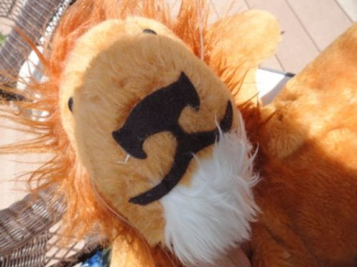 "Vtg '73 Lion ""Pillow Pets"" DARDENELLE DIV. R. DAKIN & Co. San Franicisco CALIF."