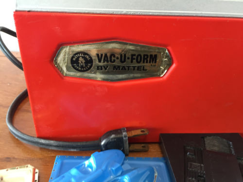 Vintage 1963 VAU-U-FORM BY MATTEL Instruction Book Molds Plastic 23 Pages