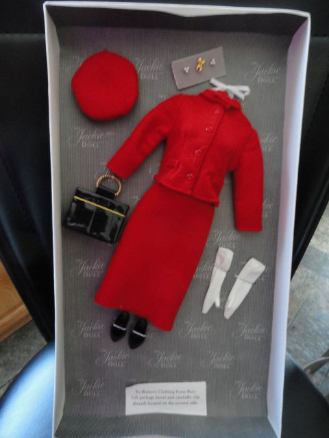 Franklin Mint The Jackie Doll Accessories Red Canadian Mountie Ensemble Mint