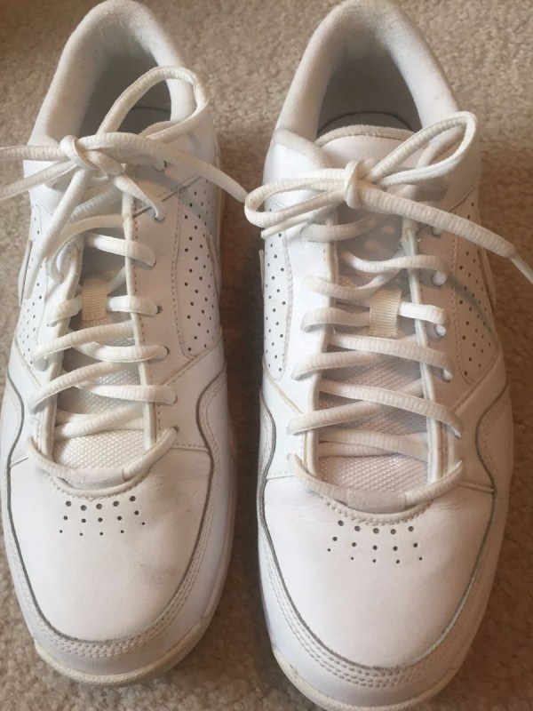 Men's Nike Zoom Air White Athletic Shoe 366430-111 Sneaker Size 10 Pre-owned
