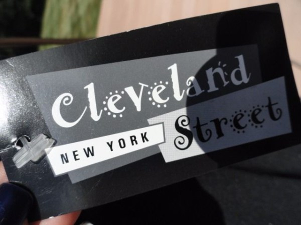 "Women's Cleveland Street New York Black 8.5"" Bell Bottom Pants Size 1 USA NWT"