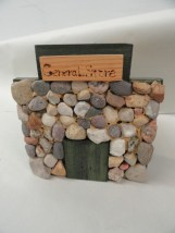 Vtg '94 Folk Art Handmade T. Johnston Store Tree Huggers STONEWORKS JVC 11/1,000