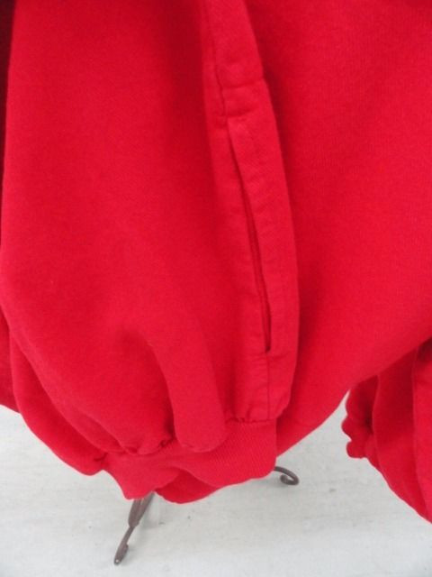 Women's The BEAR Grand Traverse Resort Logo Red Top Blouse Large 100% Cotton