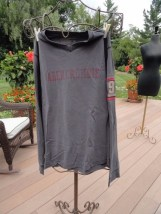 """ABERCROMBIE """"9"""" Long Sleeve Shirt Medium 100% Cotton V Neck Preowned Great Cond"""