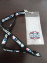 MLB WORLD SERIES 2012 FALL CLASSIC Lanyard Ticket Holder Taco Bell Fire Sauce