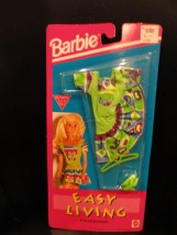 Barbie Easy Living Fashions 1992 Mattel NIP Dress Shoes Hanger Bright Colors