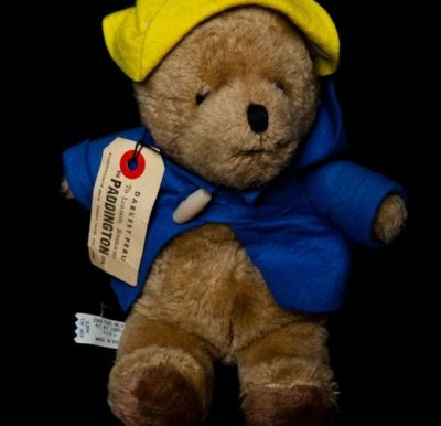"Vintage 1975 EDEN Toys 11"" Paddington Bear With Tag Darkest Peru To London Used"