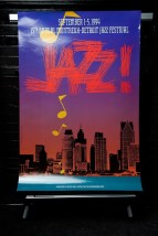 MONTREUX  DETROIT JAZZ 1994 Poster 15th Annual Jazz Festival September 1-5 1994