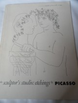 Art Book Catalog Brochure Picasso The Museum Of Modern Art NY 23 Pages 1952