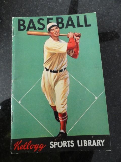 1934 Baseball Kellogg Sports Library Book - American Boy Magazine 46 Pages