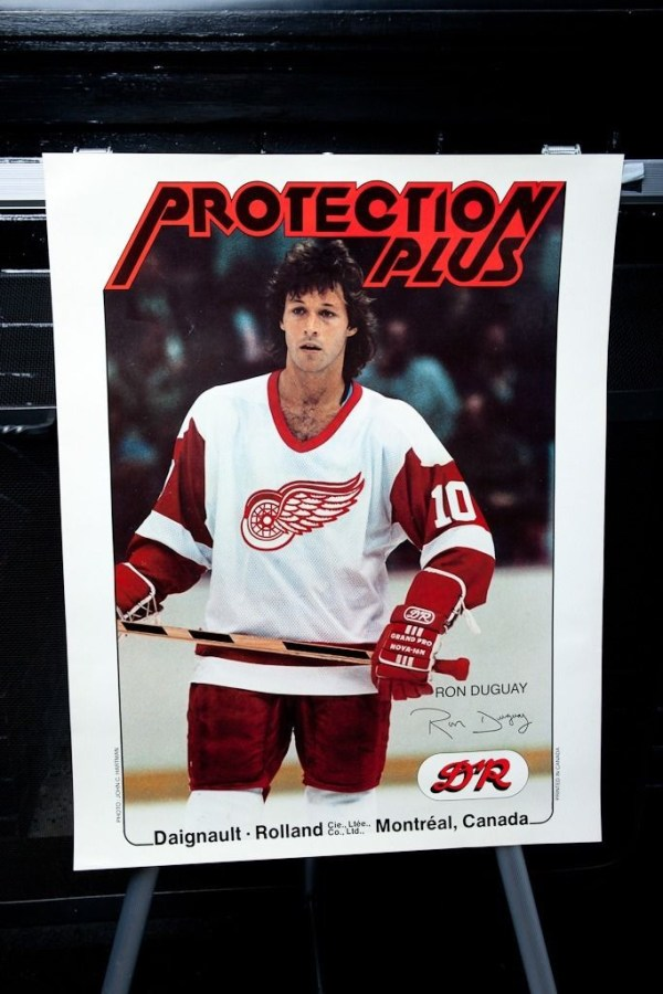Detroit Red Wings NHL RON GUGUAY Poster Daigrault Rolland Montreal Canada DR